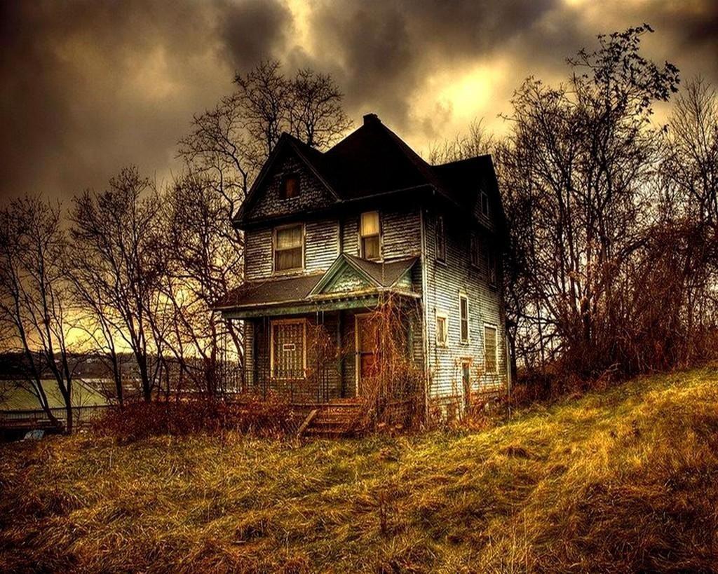 долгие картинки загадочных домов ней изображена
