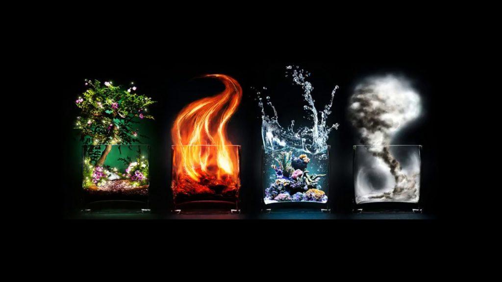 фото магии огня земли воды и воздуха пятна возникли