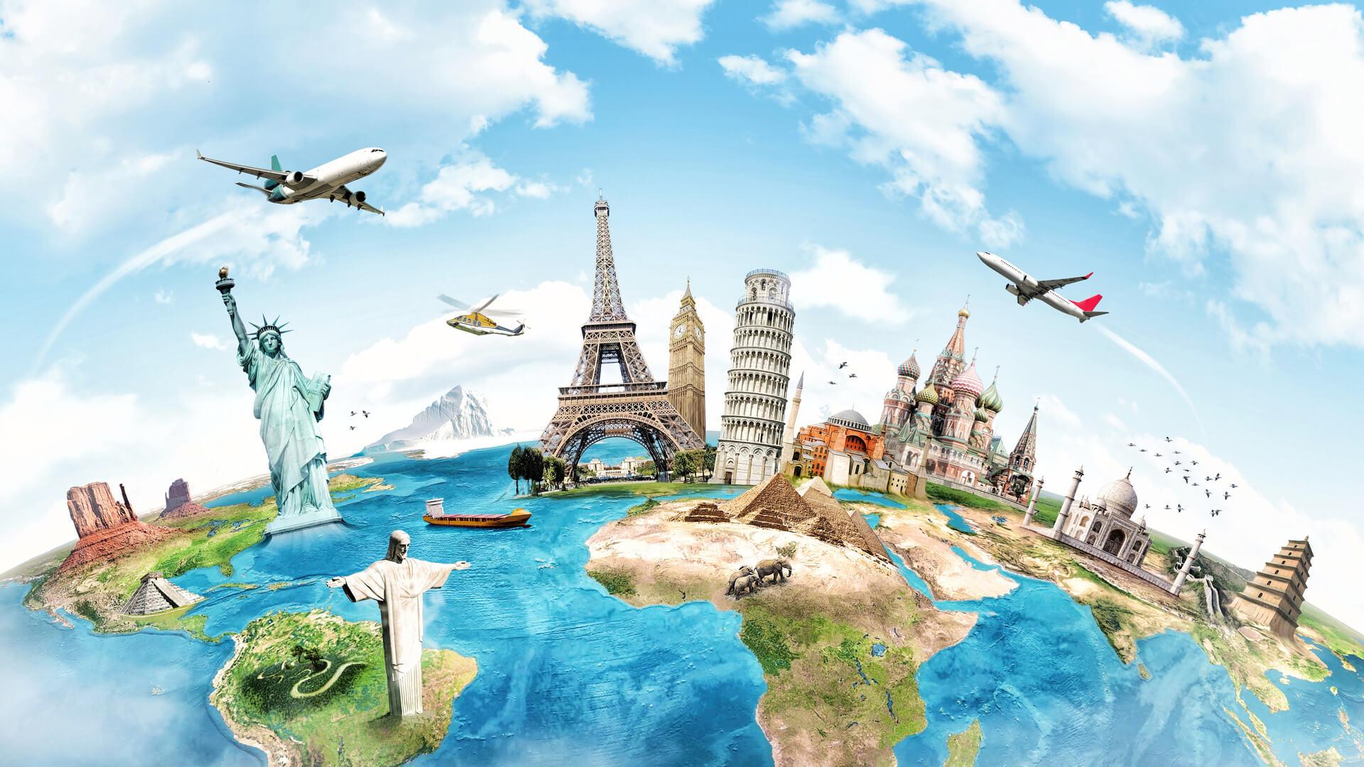 картинки на рабочий стол путешествия туризм