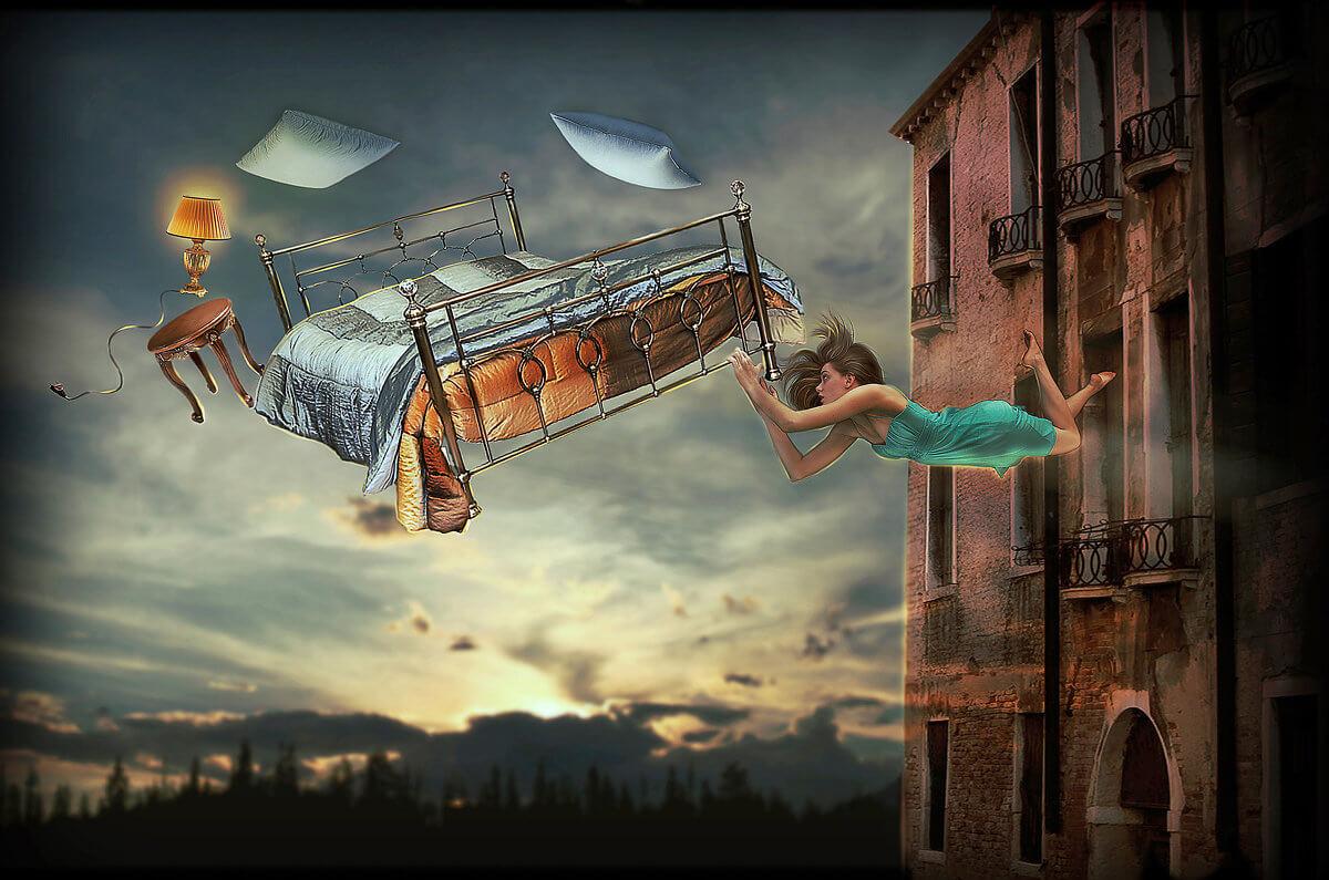 К чему снится летать во сне взрослому человеку - сонник