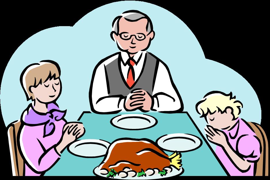 Православная молитва перед едой и после