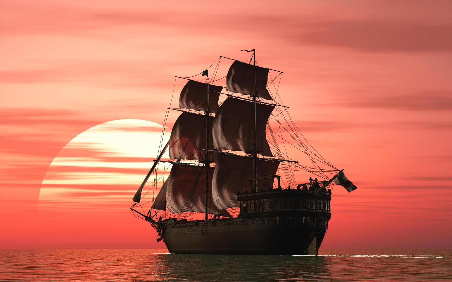 К чему снится корабль - сонник. Плыть на большом корабле во сне