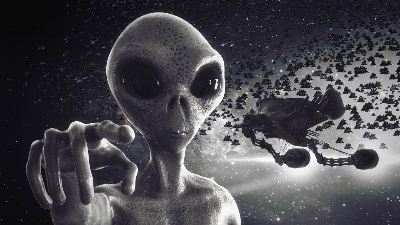 Картинки нло пришельцев, женщине без