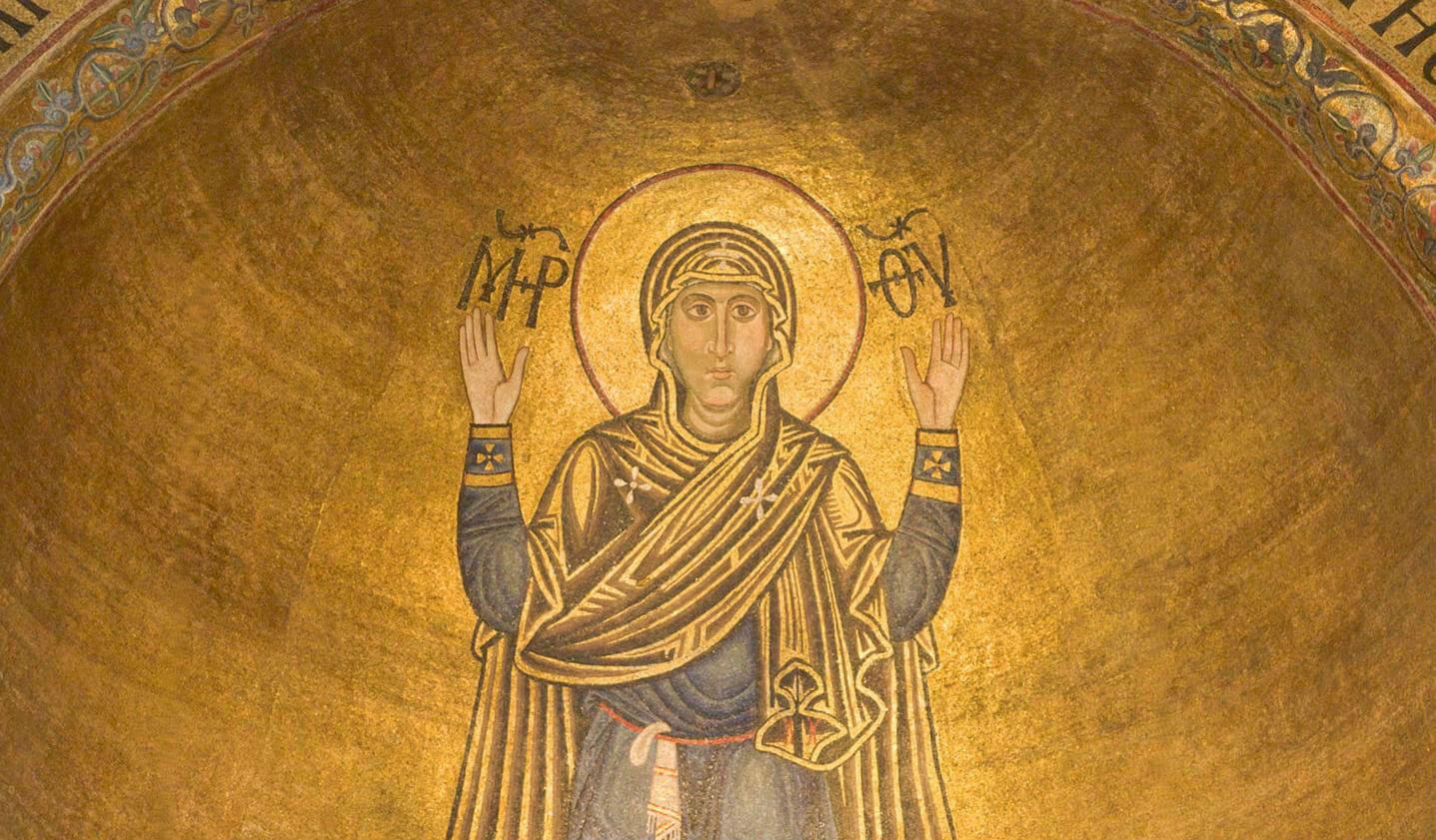 Нерушимая стена. Молитва иконе Божьей Матери