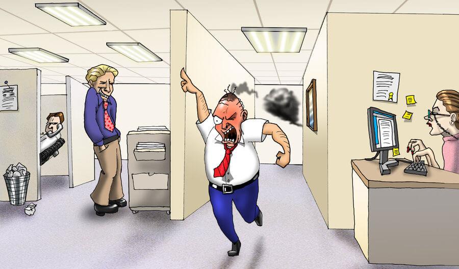 Юмористические картинки про руководителей